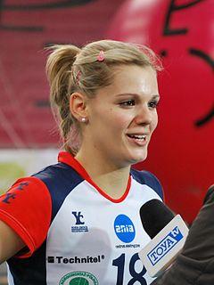 Pavla Vincourová Czech volleyball player