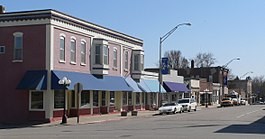 Pawnee City, Nebraska E side G from 7.JPG
