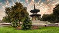 Peace Pagoda in Battersea Park in London.jpg