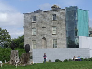 Pearse Museum - Image: Pearse Museum western elevation