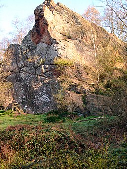 Pecketts Rock , Habberley Valley - geograph.org.uk - 221576