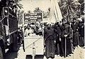 Pedestrian pilgrims from Najaf to Karbala, 1956.jpg