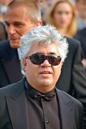 Pedro Almodovar at the Cannes film festival. B...