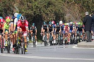 2016 Milan–San Remo - The peloton in Savona