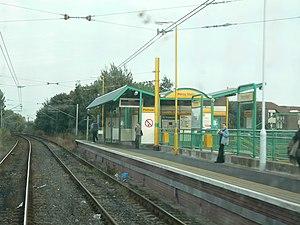 Percy Main Metro station - Percy Main Metro station