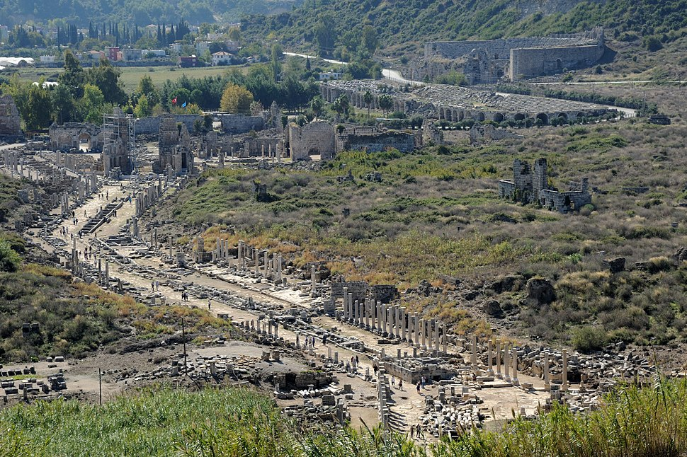 Perge city overview