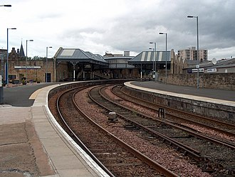 Perth railway station, Scotland - Perth railway station in 2007.