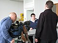 Peter Reavill being filmed (4).jpg
