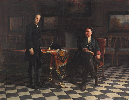 Peter the Great Interrogating the Tsarevich Alexei Petrovich