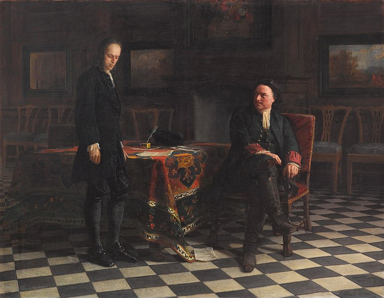 File:Peter the Great Interrogating the Tsarevich Alexei Petrovich.jpg