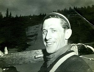2000 in Norway - Petter Hugsted, Olympic gold medalist in 1948