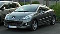Peugeot 207 CC 120 VTI Premium (Facelift) – Frontansicht, 9. April 2011, Ratingen.jpg