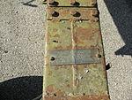 Pezzo artiglieria surplus, Ferro Polesine Rovigo 07.JPG