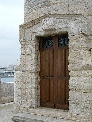 Phare de Sainte Marie - Door Detail