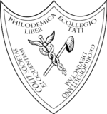 The Crest of the Philodemic Society of Georgetown University