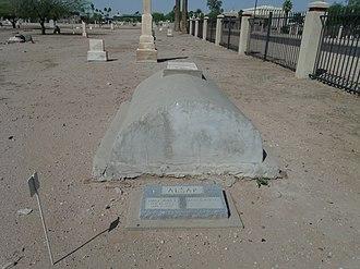 John T. Alsap - Grave site of John T. Alsap