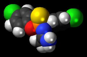 Phosacetim - Image: Phosacetim 3D spacefill