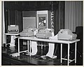 Photograph of Exhibit of PDP-4 Digital Equipment Corporation Machines on the Stage of the National Archives Auditorium, 1964 (3874706978).jpg