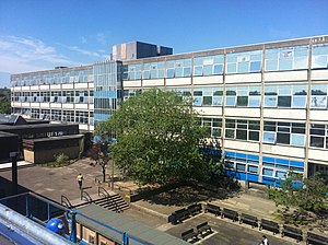 Eastwood High School, Newton Mearns - Image: Photography of Eastwood High current school building