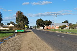 Picola Town in Victoria, Australia