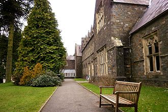 Trinity University College - Picture of Old Building Carmarthen