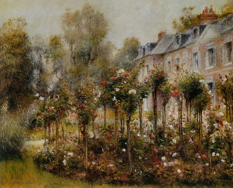 File:Pierre-Auguste Renoir - Roseraie à Wargemont.jpg