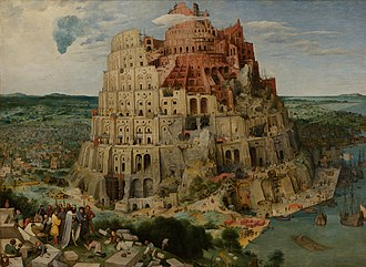 Tower of Babel - The Tower of Babel by Pieter Bruegel the Elder (1563)