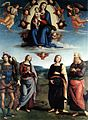 Pietro Perugino - Madonna in Glory with the Child and Saints - WGA17287.jpg