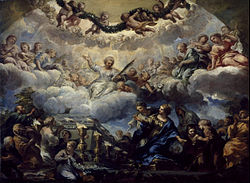 Pietro da Cortona - Saint Constantia's Vision before the Tomb of Saints Agnes and Emerentiana - Google Art Project.jpg