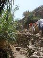 PikiWiki Israel 15812 climbing to Nahal David.jpg