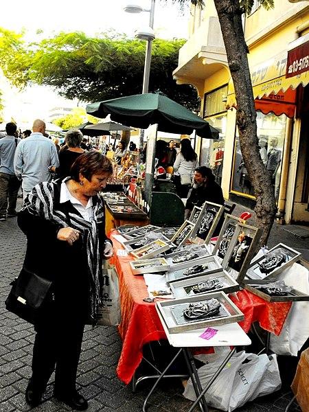 שוק נחלת בנימין בתל-אביב