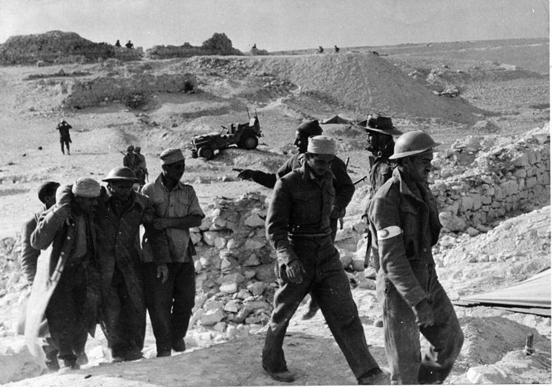 מבצע חורב - שבויים מצריים