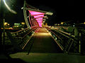PikiWiki Israel 36692 Beersheba tubes Bridge at night.JPG