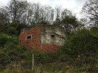 Pillbox on the North Downs Way