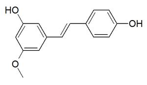 Pinostilbene - Image: Pinostilbene