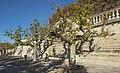 Place royale du Peyrou, southern wall 01.jpg