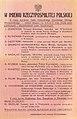 Plakat Kierownictwa Walki Podziemnej informujący o wykonanych wyrokach śmierci wrzesień 1943.jpg
