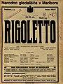 Plakat za predstavo Rigoletto v Narodnem gledališču v Mariboru 14. junija 1927.jpg