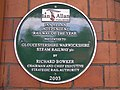 Plaque, Toddington Railway Station - geograph.org.uk - 1468705.jpg