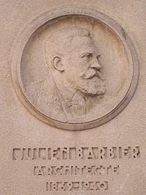Plaque Julien Barbier - Église Notre-Dame-des-Otages.JPG