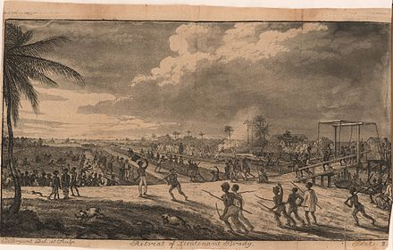 August 18: Demerara rebellion begins. Plate 2 Retreat of Lt Brady.jpg