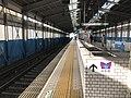 Platform of Osakako Station 2.jpg