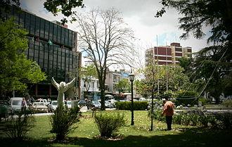 Monte Grande - Image: Plaza B.Mitre