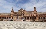 Plaza de España en Sevilla 1929 Iberoamerikanische Ausstellung Andalusien Spanien - Foto Wolfgang Pehlemann P1090302.jpg
