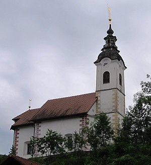 Podlipa, Vrhnika - Saint Bricius' Church