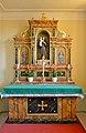 Poertschach Pfarrkirche hl Johannes d T re Seitenaltar 17092014 872.jpg