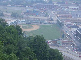 Point Stadium - Point Stadium 2006 before installation of artificial turf