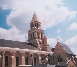 Église Notre-Dame la Grande, Poitiers - Bell tower