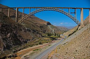 Khoy - Pol havai - railway bridge Khoy