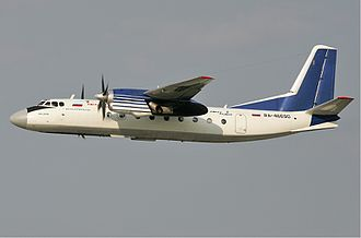 Antonov An-24 - Polet Airlines An-24